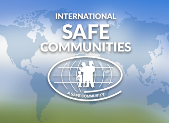 Logo for Safe Communities